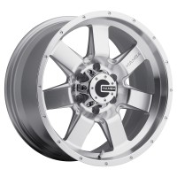 20 x 9 ET+30 586S M14 in Silver Machined Face
