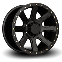 20 x 9 ET+30 588B M16 in Matte Black