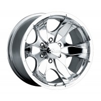 17 x 8 ET+25 187P WARRIOR in Polished