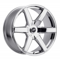 22 x 9.5 ET+25 785V Ovation in Chrome PVD