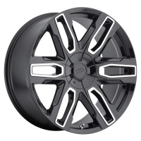 20 x 9 ET+25 787MB Benchmark in Gloss Black Machined Milled
