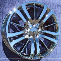 20 x 9.5 Range Rover Sport Supercharged in Chrome