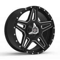 20 x 9 ET+30 834BM ST-1 in Gloss Black Machined Milled