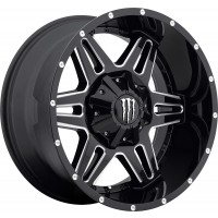 20 x 9 ET+18 538BMin Gloss Black Machined Milled