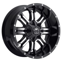 20 x 9 ET+18 535MB in Gloss Black Machined Face