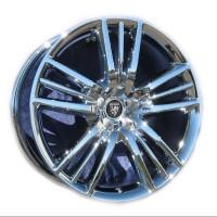 """20 OEM Jaguar XJ """"Selena"""" in Chrome"""