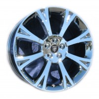 20 x 10 Jaguar XJ Orona rear 59876 In Chrome