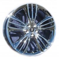 "20x10 OEM Jaguar XJ ""Mataiva"" in Chrome"