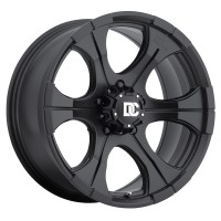 20 x 9 ET+18 700B DC Blackout in Matte Black