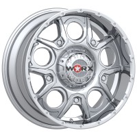 18 x 9 ET+18 809C REBEL in Chrome