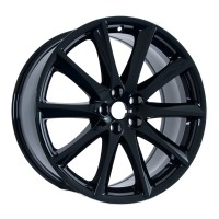 "19x9 OEM Jaguar XJ ""Aleutian"" in Gloss Black"