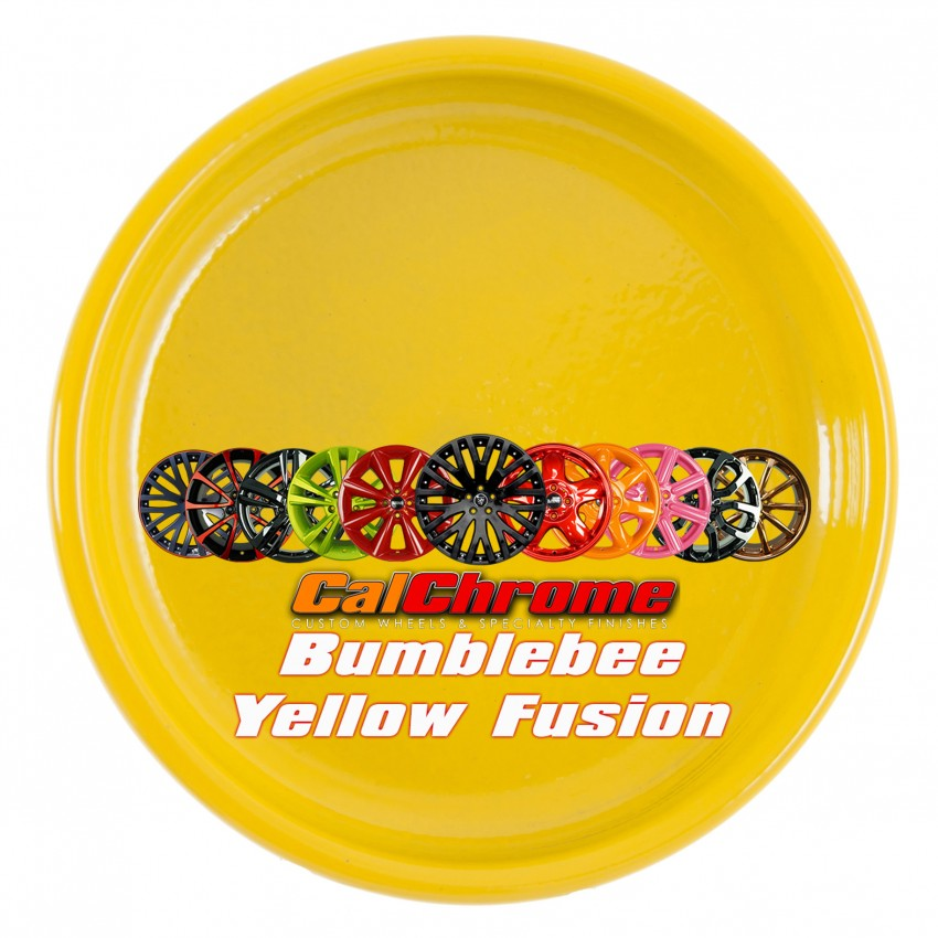 View our Premium Color - Bumble Bee Yellow Fusion Powder Coat