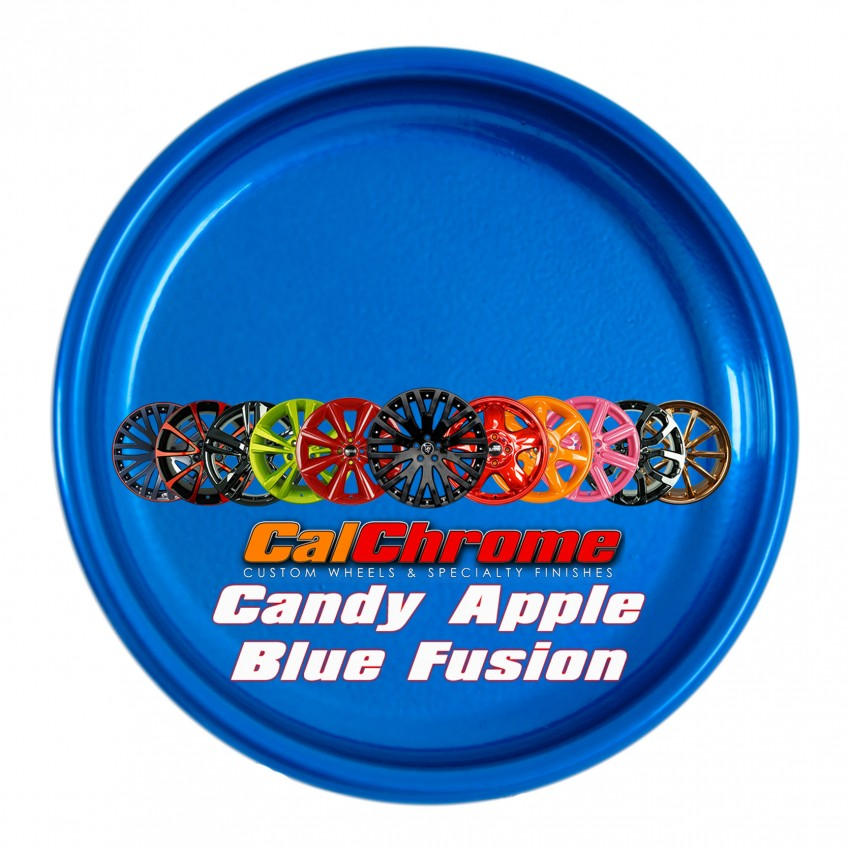 View our custom multi-stage colors - Candy Apple Blue Fusion Powder Coat