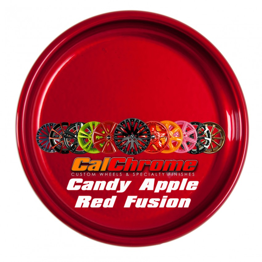 View our custom multi-stage colors - Candy Apple Red Fusion Powder Coat