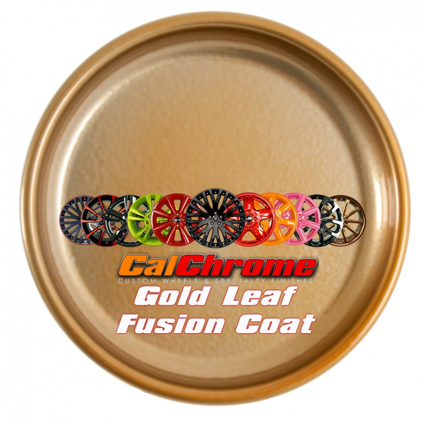 View our custom multi-stage colors - Gold Leaf Fusion Powder Coat