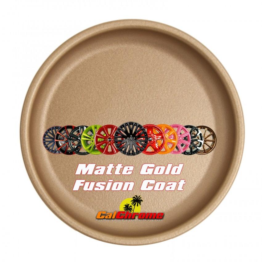 View our Premium Color - Matte Gold Fusion Powder Coat