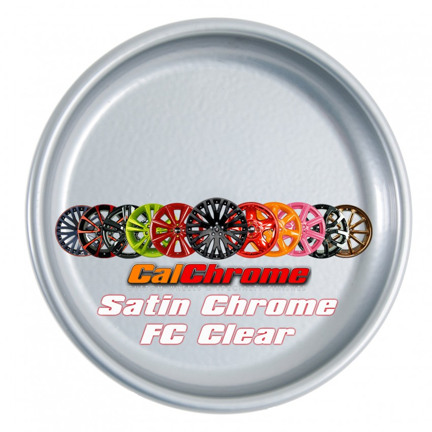 View our custom multi-stage colors - Satin Chrome Fusion Powder Coat