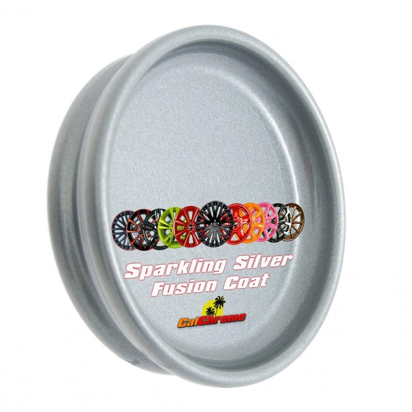Sparkling Silver Silvers: Sparkling Silver Fusion Powder Coat Wheels Rims