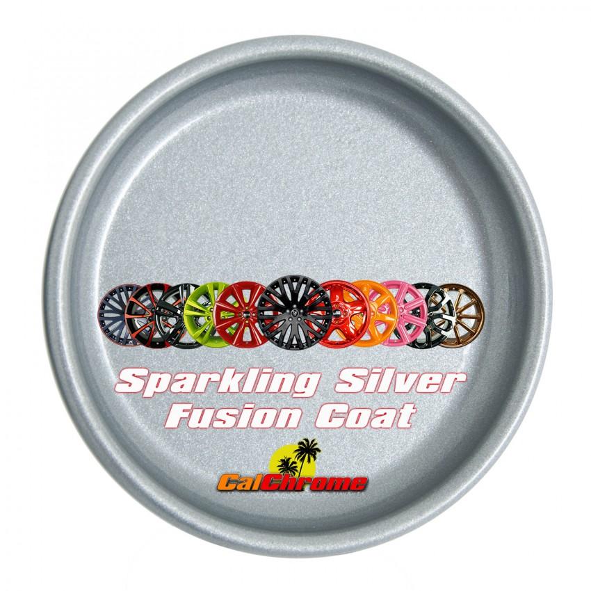 View our Premium Color - Sparkling Silver Fusion Powder Coat