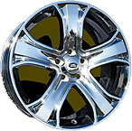 Chrome Plated Alloy Wheel